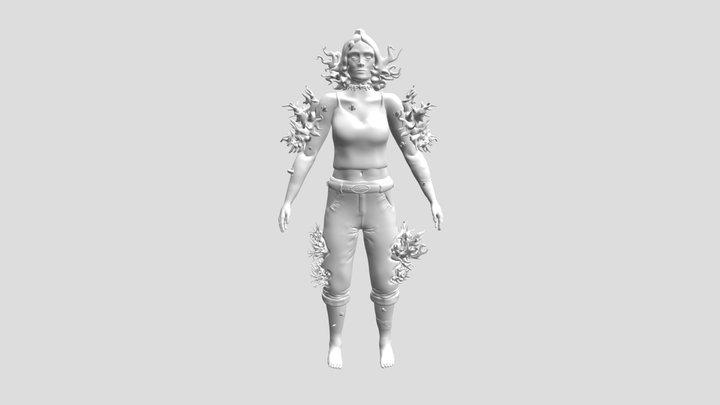 "GART120 Character ""Phoenix"" 3D Model"