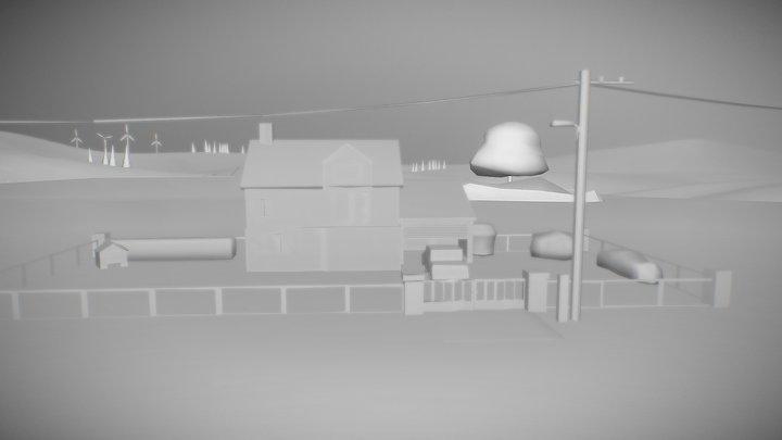 Le Refuge Scene_Update 3D Model