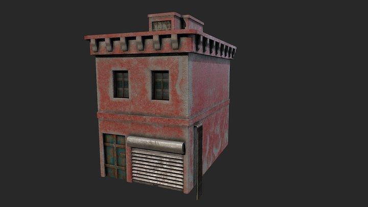 HQ building 3D Model