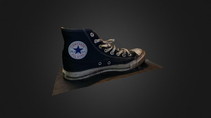 Old Shoe #3DST 3D Model
