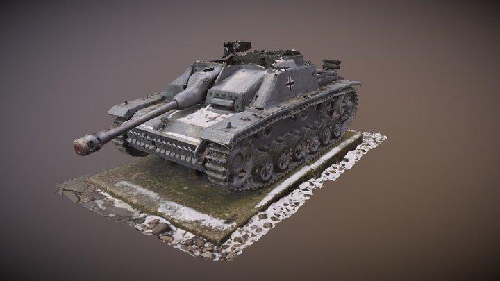 Stug IIIG 3D Model