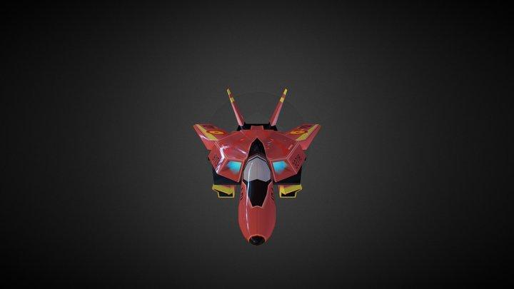 Robotech Valkyrie 3D Model