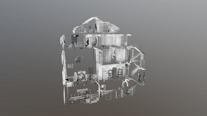 Scan 3D Bâtiment 3D Model