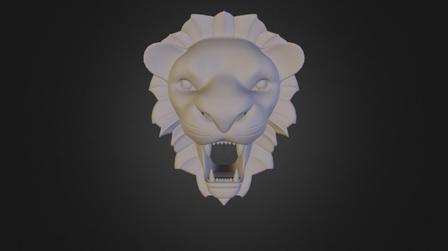 Lion's head 3D Model