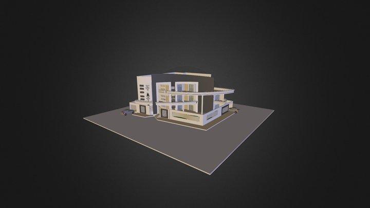 VILLA PRIVATE 3D Model