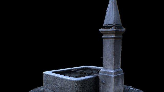 Bernese Fountain Scan Test 3D Model