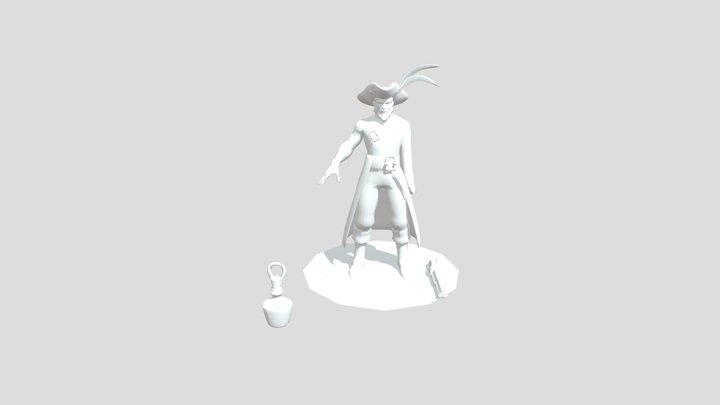 Ringo Pirate 3D Model