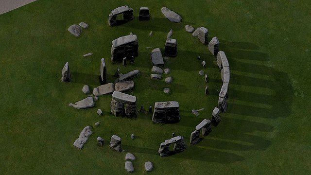 Stonehenge-basic 3D Model