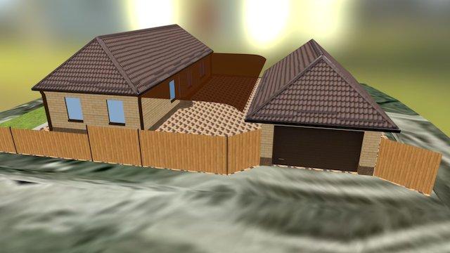 Дом 3D Model