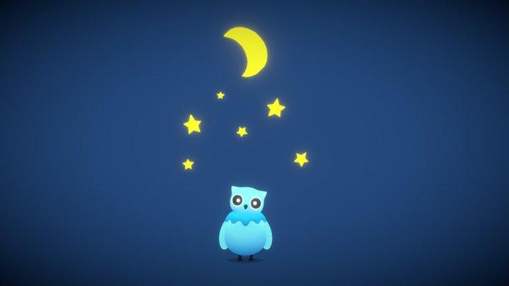 Night Owl 3D Model