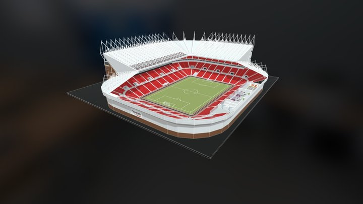 [SA] Interactive 3D Model - Stadia & Arenas 3D Model