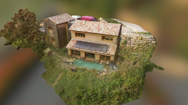 Maison Lodeve 3D Model