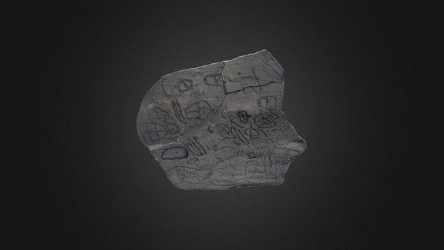 Grabados Rupestres El Julán 3D Model
