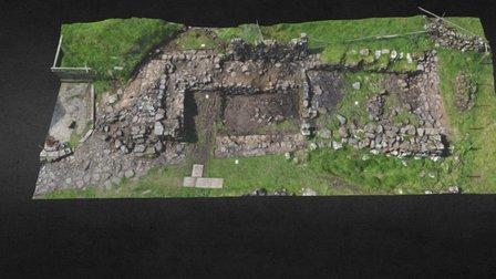 Innar í Búð, Koltur, Faroe Islands 3D Model