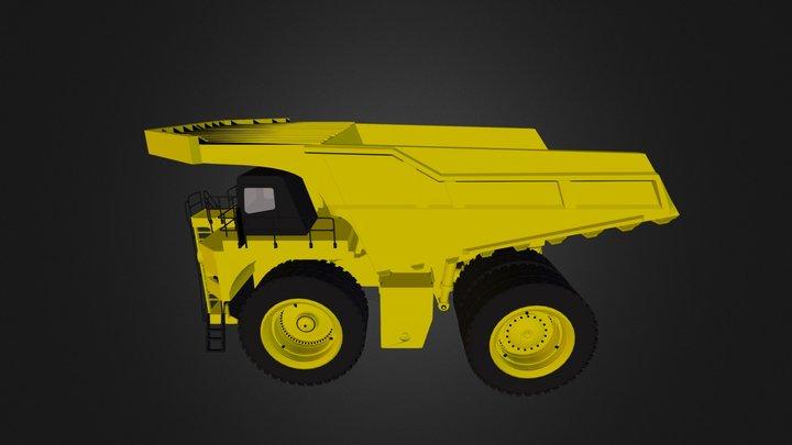 Mining_Truck_795F 3D Model