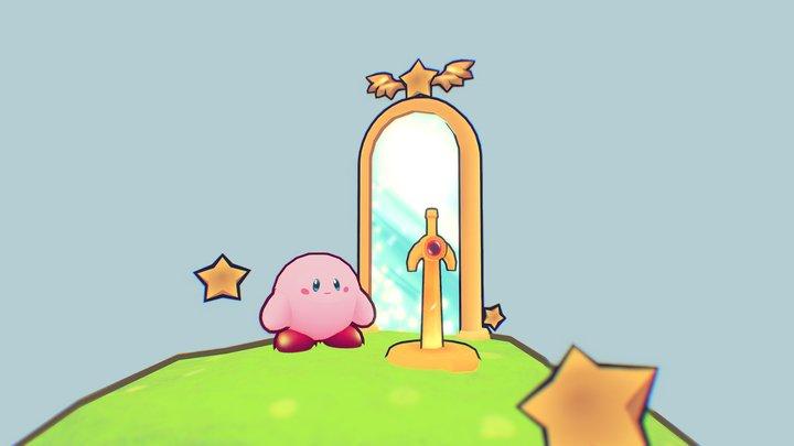 It's Kirby - Diorama 3D Model