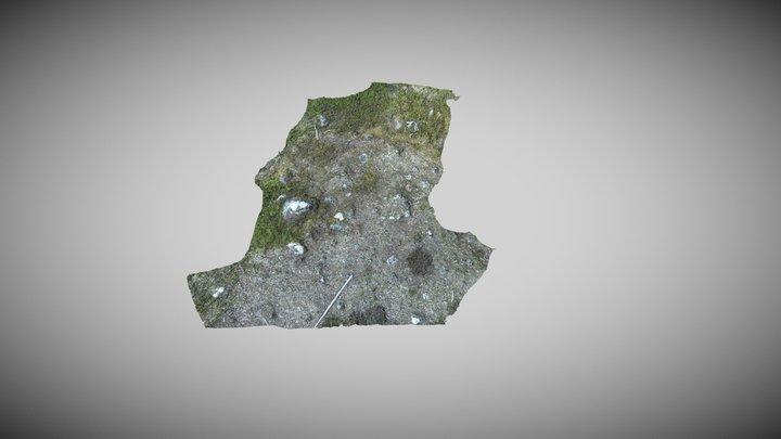 Härd i SÖ delen av viste med ID L1993:6459 3D Model
