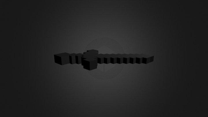 Espada - Minecraft 3D Model