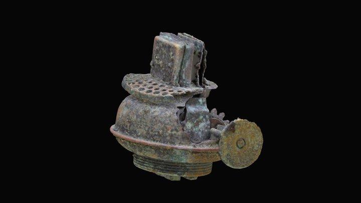 Historic Lantern Base 3D Model