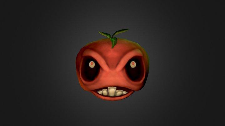 Raging Tomato 3D Model