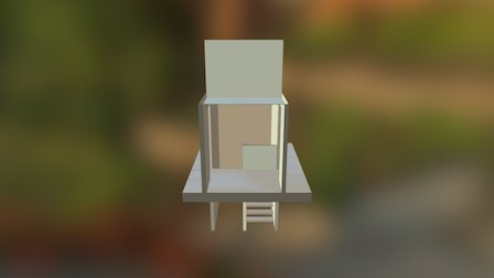 W13_stair A 3D Model