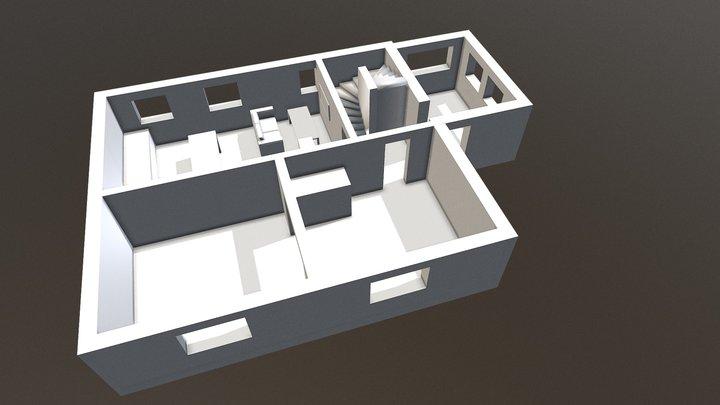 Erdgeschoss 3D Model