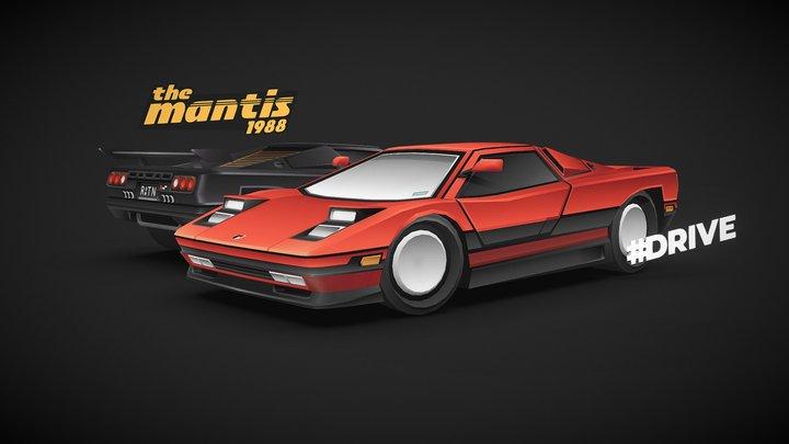 #DRIVE - The Mantis 3D Model