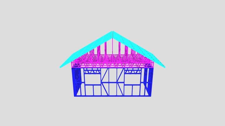 Пристрой Уфа 3D Model