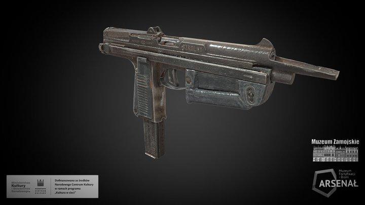 Pistolet maszynowy RAK wz. 63 3D Model