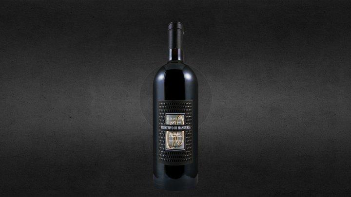Bottiglia Primitivo di Manduria 3D Model