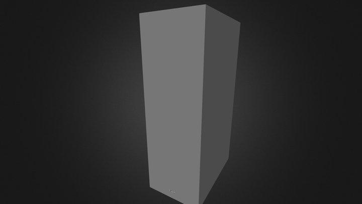 Safe_Front_blend 3D Model