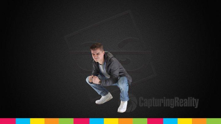 Jay's Fun Pose - The Studio 3D Model
