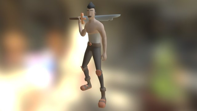 Aron - Character Animations 3D Model