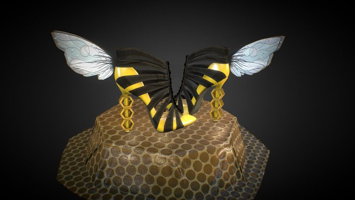BeeShoes 3D Model