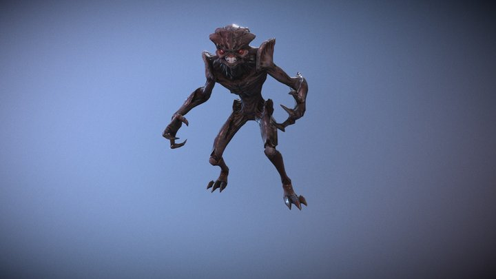 Alien Assassin 3D Model