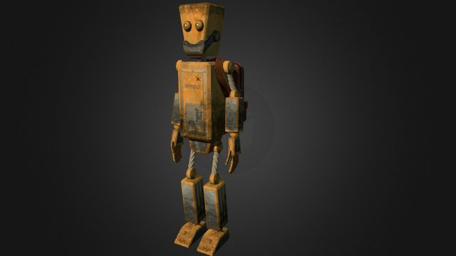 Robot Toy 3D Model