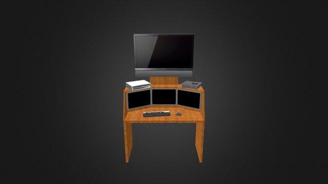 My Desk Design 3D Model