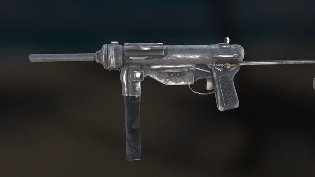 M3 Grease Gun - WiP 3D Model