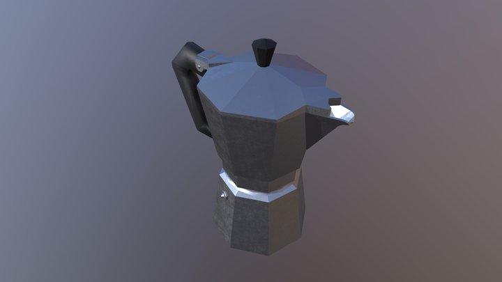 Italian moka (aka caffettiera) 3D Model