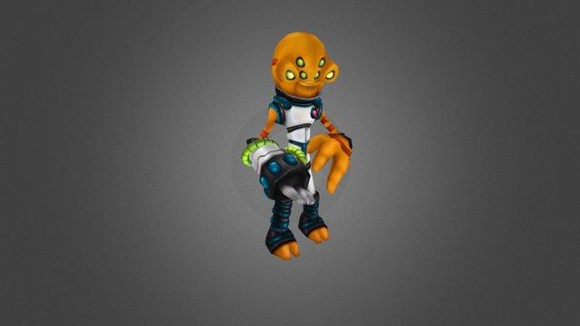 Magi Alien 3D Model