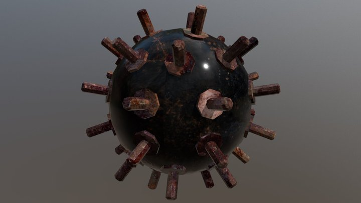 WaterMine Asset for Game 3D Model