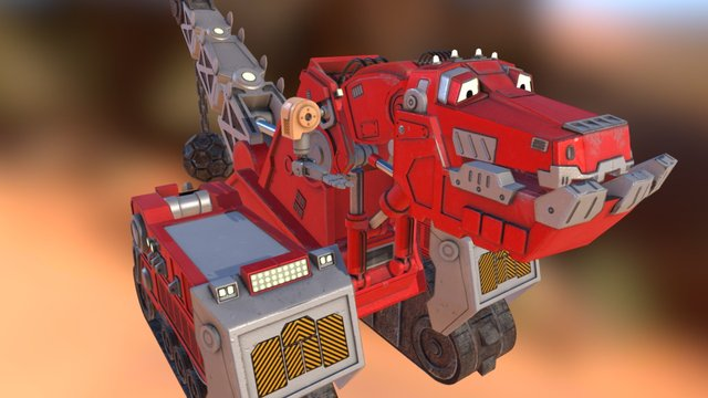 DINOTRUX TY 3D Model