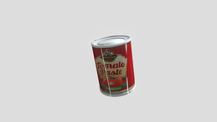 tomato paste 3D Model