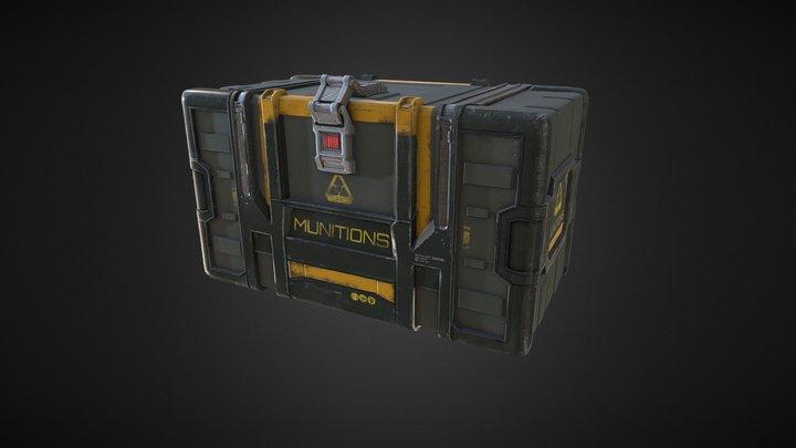 Ammo_Crate (Concept of Colin Geller) 3D Model