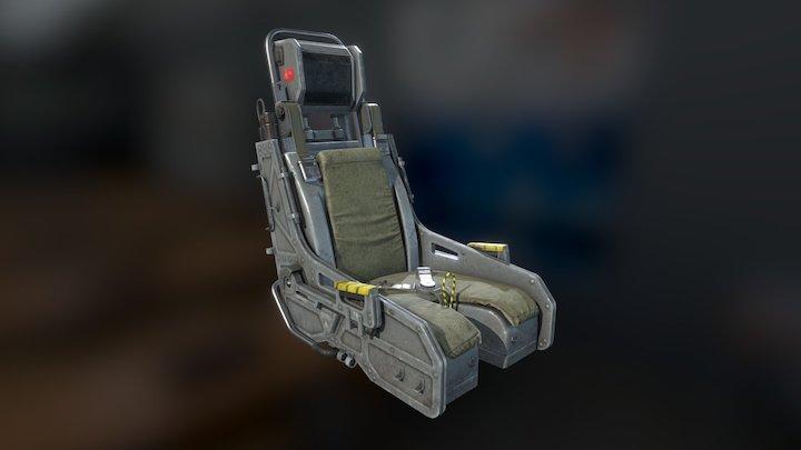Ejection seat 3D Model