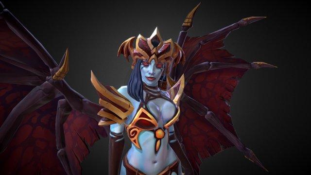 Vampiric Reborn 3D Model