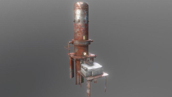 Project Veritex - Advanced Smeltery 3D Model