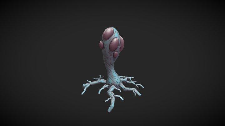 Mutant Tree 3D Model