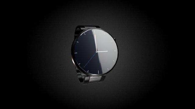 Wrist watch (smartWatch) 3D Model