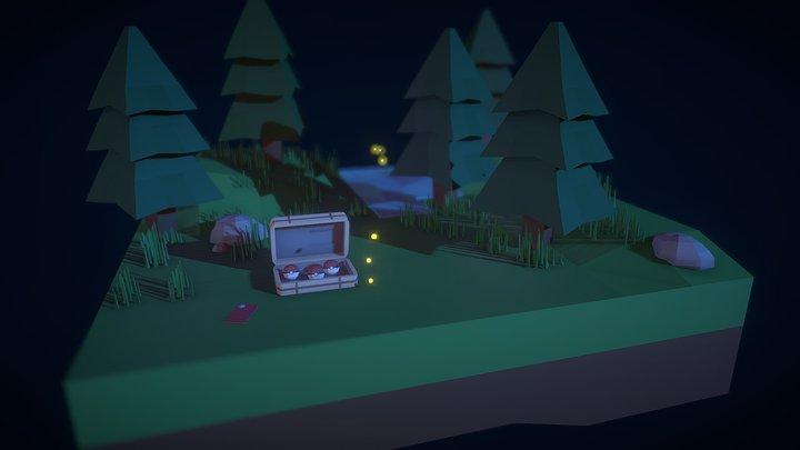 El Bosque /  The Forest 3D Model
